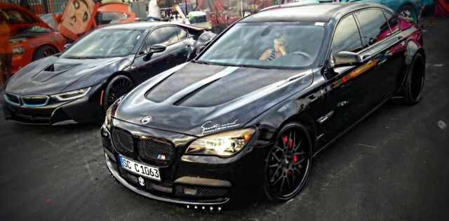 2010 BMW 7 Series M7 Widebody Beast With 22s
