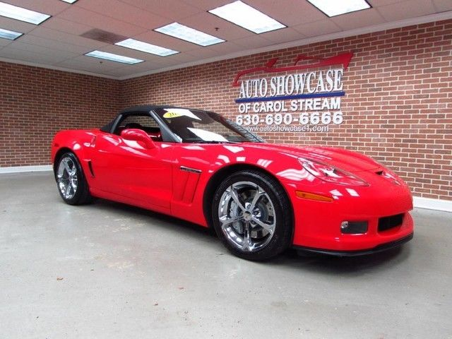 2010 chevrolet corvette convertible grand sport 3lt automatic 1 - 2010 Chevrolet Corvette Convertible 3lt At