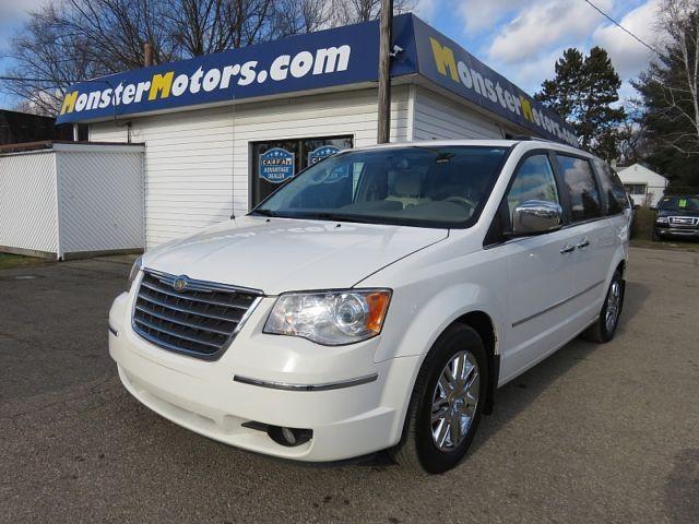 2010 Chrysler Town Country Limited 73666 Miles White Mini Van