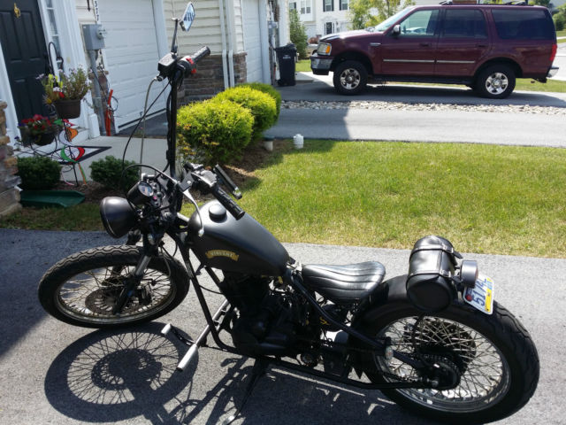 2010 Cleveland Cyclewerks Heist 250cc Bobber Custom ... Bobber Motorcycle With Ape Hangers