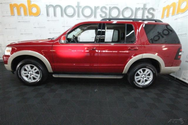 2010 ford explorer eddie bauer 4x4 suv clean carfax 3rd row seating. Black Bedroom Furniture Sets. Home Design Ideas