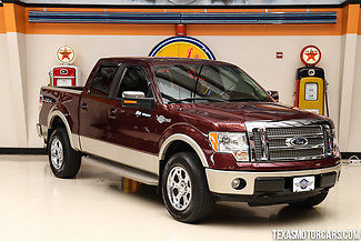 2010 Ford F 150 King Ranch 4x4 54l V8 Saddle Leather Running Boards
