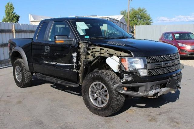 2010 ford f 150 svt raptor 6 2l repairable salvage wrecked damaged save fixable. Black Bedroom Furniture Sets. Home Design Ideas