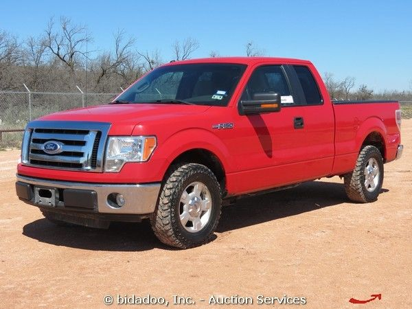 2010 Ford F150 Xlt Crew Cab Pickup Truck 4 6l V8 At Cold Ac