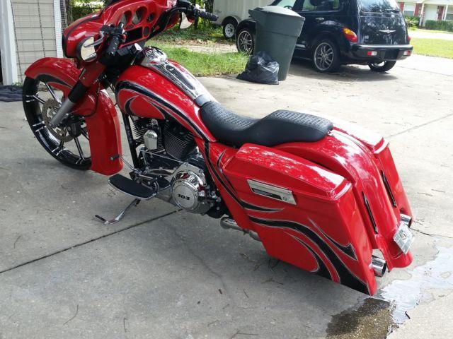 2010 Harley Street Glide 26 Inch Front Wheel Custom Bagger