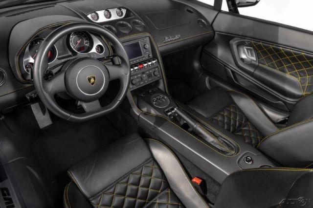 2010 Lamborghini Gallardo Lp560 4 Spyder Nero Noctis W Nero Perseus