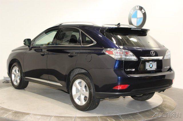 2010 Lexus Rx 350 Black Suv Navigation Premium Package Heated Amp Ventilated F