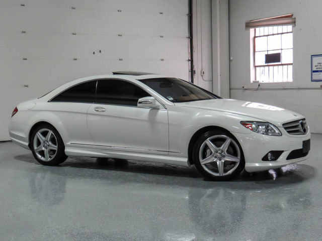 2010 mercedes benz cl550 4matic coupe 2 door 5 5l