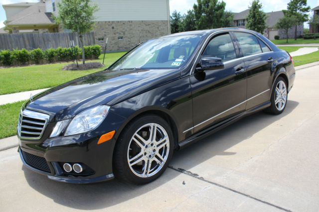 2010 mercedes e350 amg black 44k miles with panorama for Mercedes benz e350 black