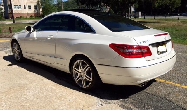 2010 mercedes e350 coupe amg navigation panoramic roof for Mercedes benz e350 amg 2010
