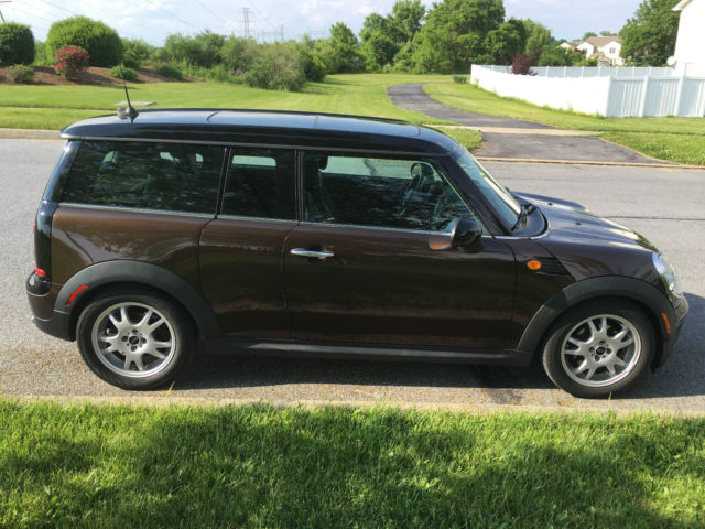 2010 Mini Cooper Clubman Hot Chocolate Metallic Very