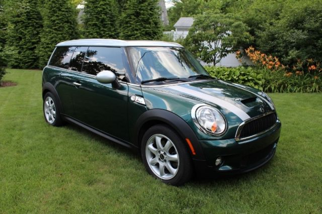 2010 Mini Cooper S Clubman British Racing Green Automatic Sunroof