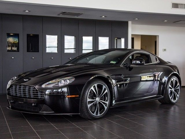2011 Aston Martin V12 Vantage Manual Carbon Black Nav