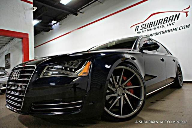2011 Audi A8 L Awd Navi Pano Roof 22 Concave Wheels Loaded 1 Owner