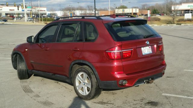2011 Bmw X5 35d All Wheel Drive Diesel Loaded Suv Beautiful Vermillion Red