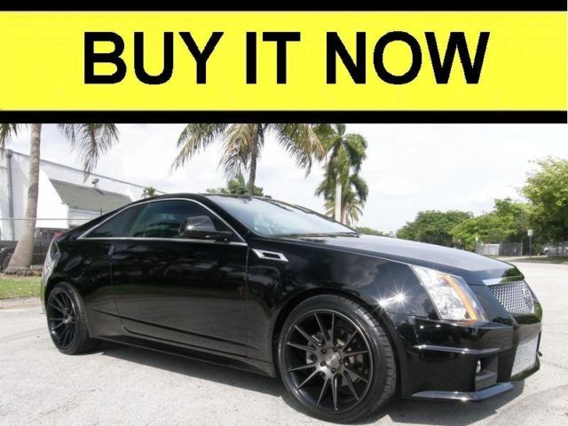 2011 Cadillac Cts 3 6 Coupe New 20 Inch Rims And Tires Must See