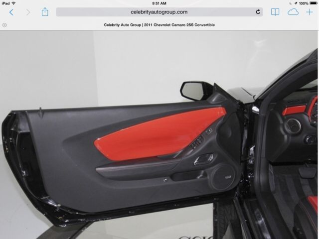 2011 Camaro Convertible 2ss Supercharged Custom