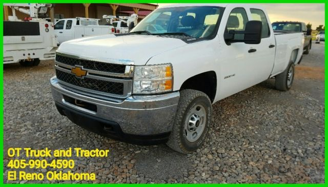 2011 Chevy 2500HD Crew Cab Long Bed 4X4 Diesel Duramax DPF