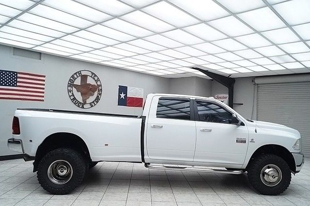 2011 Dodge Ram 3500 Diesel 4x4 Dually SLT Crew Lifted 35s 1 TEXAS OWNER