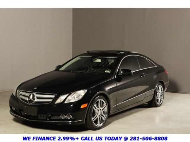 2011 e350 coupe nav pano rearcam xenons chrome amg heated. Black Bedroom Furniture Sets. Home Design Ideas