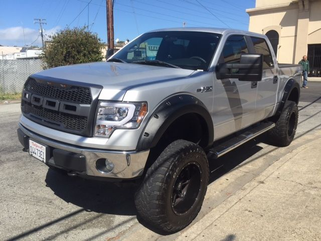 2011 ford f 150 xlt crew cab pickup 4 door 5 0l flex fuel lifted raptor look. Black Bedroom Furniture Sets. Home Design Ideas