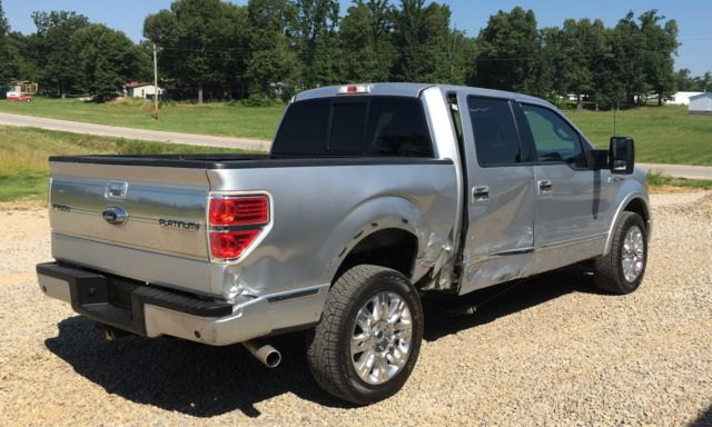 Ford F150 Lariat 4x4 For Sale >> 2011 FORD F150 PLATINUM CREW CAB 4X4 6.2 WRECKED SALVAGE ...