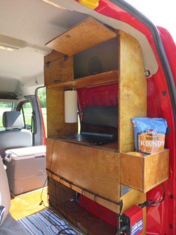 Ford Transit 12 Passenger Van >> 2011 Ford Transit Connect Camper Van Conversion Great fuel ...