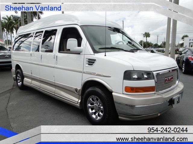 2011 Gmc Conversion High Top Custom 9 Pass Extended Van Explorer Se