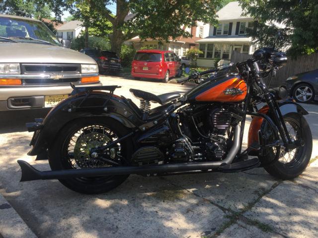 Harley Davidson Crossbones Custom Rear Fender