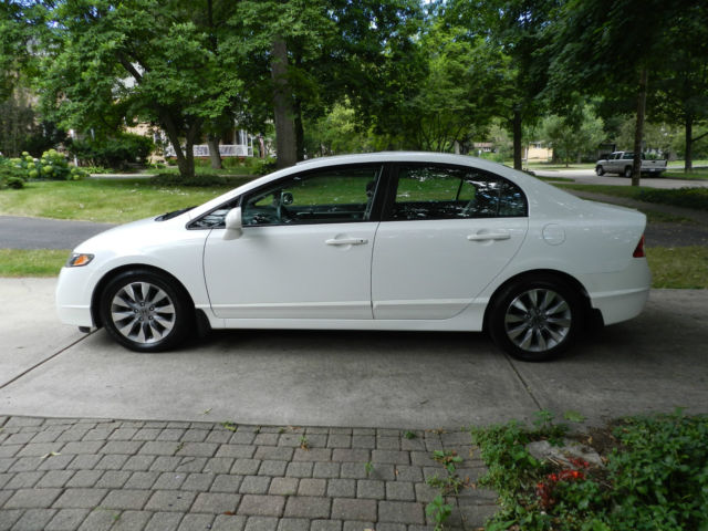 2011 Honda Civic Ex Sedan Sunroof Alloy Wheels Low