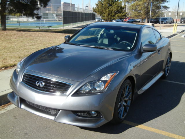 2011 infiniti ipl coupe silver with black interior low mileage always garaged. Black Bedroom Furniture Sets. Home Design Ideas