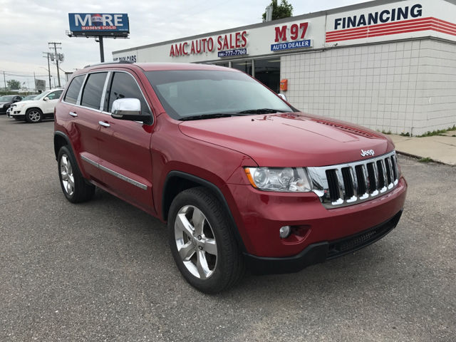 2011 jeep grand cherokee limited 4x4 4dr suv red suv 57l v8 natural aspiration 1 - 2011 Jeep Grand Cherokee Limited 5 7l 4x4