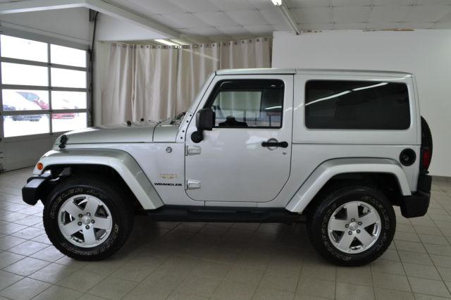 2011 jeep wrangler sahara sport utility 2 door 3 8l low mileage. Black Bedroom Furniture Sets. Home Design Ideas