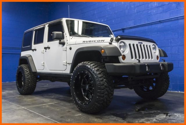 2011 jeep wrangler unlimited lifted rubicon 4x4 v6 hardtop custom wheels. Black Bedroom Furniture Sets. Home Design Ideas