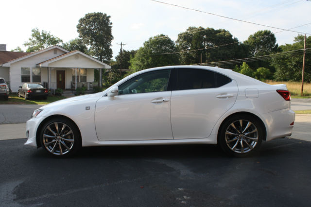2011 lexus is250 pearl white f sport. Black Bedroom Furniture Sets. Home Design Ideas