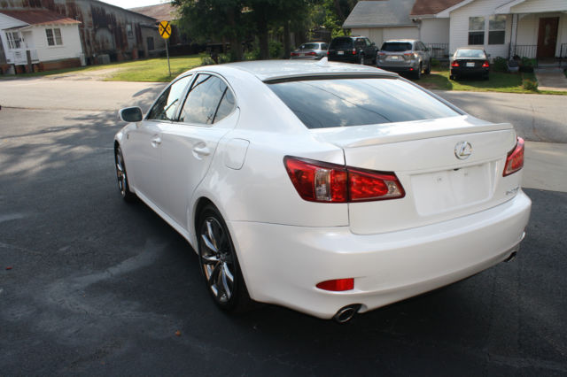2011 LEXUS IS250 PEARL WHITE F-SPORT