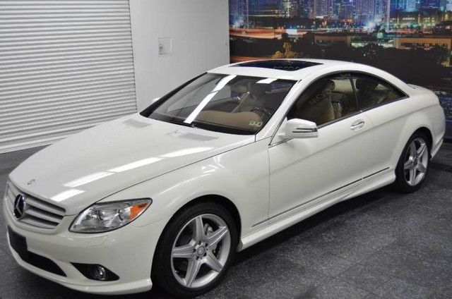 2011 mercedes benz cl class cl550 amg p2 diamond white 1 owner for Mercedes benz financial phone number
