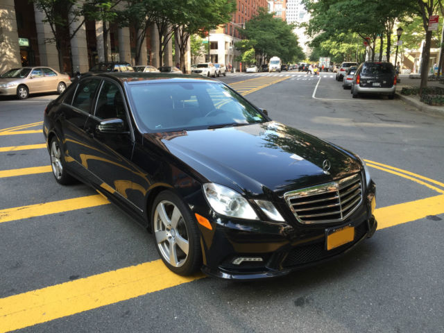 2011 mercedes benz e class e350 sedan 4 matic amg sport package. Black Bedroom Furniture Sets. Home Design Ideas