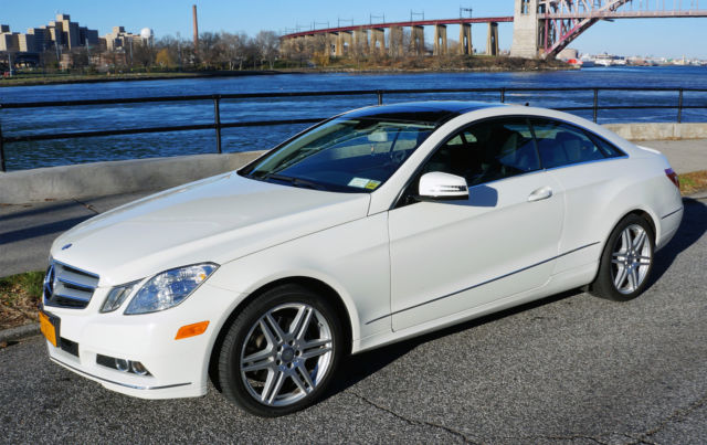 2011 mercedes benz e350 coupe sport premium package nav. Black Bedroom Furniture Sets. Home Design Ideas