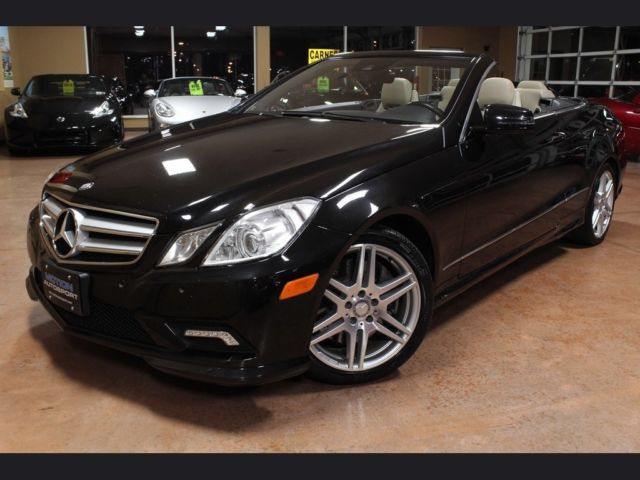 2011 mercedes benz e550 cabriolet automatic 2 door convertible