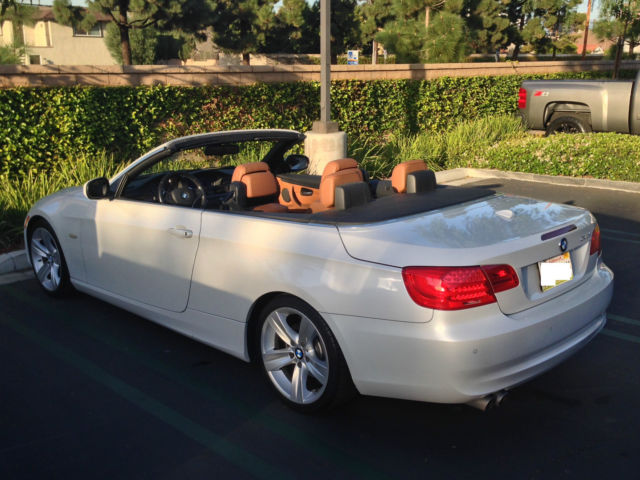 2011 mineral white bmw 328i hardtop convertible loaded w features. Black Bedroom Furniture Sets. Home Design Ideas