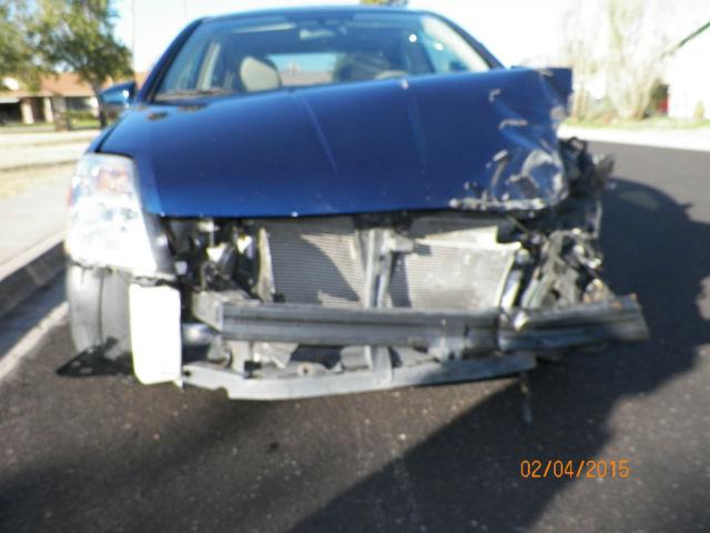 2011 Nissan Sentra SL Sedan 4-Door 2.0L -( Wrecked ...