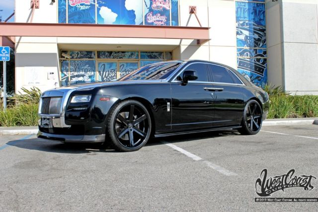 2011 rolls royce ghost west coast customs one of a kind. Black Bedroom Furniture Sets. Home Design Ideas