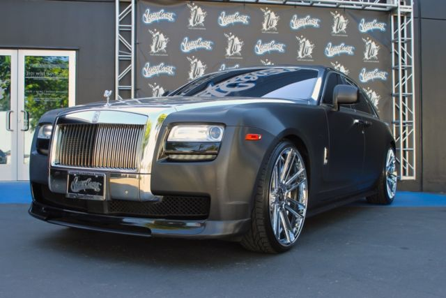 2011 Rolls Royce Ghost West Coast Customs One of a kind