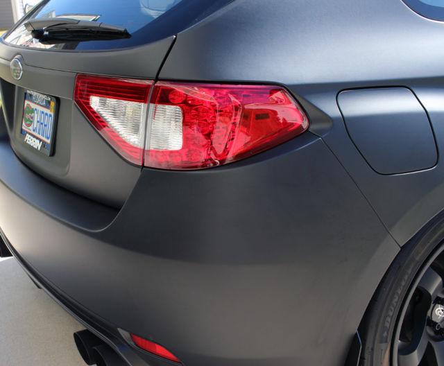 2011 Subaru Impreza Wrx 5dr Hatchback Matte Black