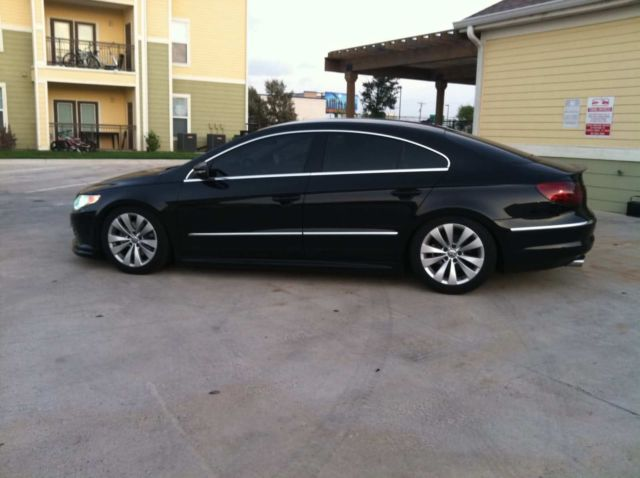 2011 volkswagen cc sport sedan 4 door 2 0l black manual trans mint condition. Black Bedroom Furniture Sets. Home Design Ideas