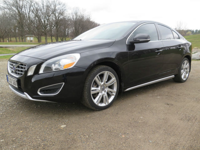 2011 volvo s60 awd t6 turbo i6 black fully loaded luxury. Black Bedroom Furniture Sets. Home Design Ideas