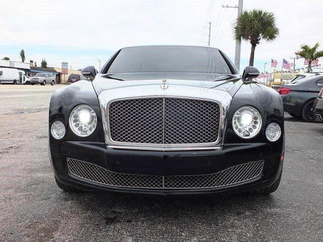 2012 Bentley Mulsanne 48537 Miles Black 4dr Car Turbocharged Gas V8