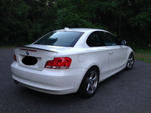 2012 BMW 128i COUPE WHITE 2Door 30L NEW TIRES GREAT CONDITION