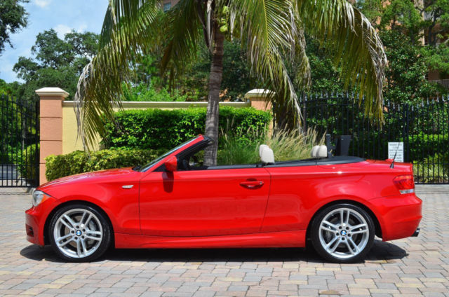 BMW I Convertible WM Sport Package Crimson Red K - 2012 bmw 135i convertible